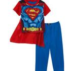 Костюм Супермена с накидкой 6-12 мес
