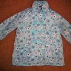 1\1.5 года куртка-пальто в цветочек