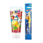 Детский набор для зубной гигиены 1-6 лет Bobini, Польша