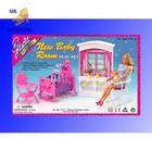 Мебель для кукол типа барби Gloria «Детская» 24022