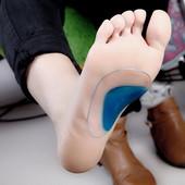 Детские ортопедические силиконовые стельки с супинатором для обуви