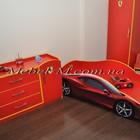 Кровать машинка Ферарри на заказ