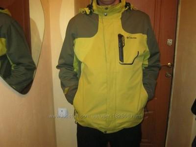 e0a1ee6bcaaaa Распродажа остатков куртка с флисовой подстежкой columbia titanium 3-в-1  ххл фото №