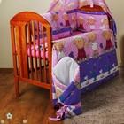Детское постельное белье в кроватку c 6 эл (без балдахина и кармана).