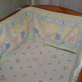 защита бортик на кроватку Mothercare