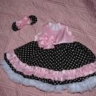 Комплект Микки Маус, детские платья