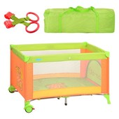 Детская манеж-кровать M 1600-1601