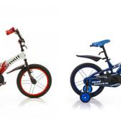Детский двухколесный велосипед Azimut Rider 12-18 диаметр