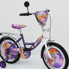 baby-tilly Велосипед Winx 18 18W фиолетовый c белым, система: