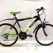 Велосипед AZIMUT MTB одноподвесы Рама стальная Hi-Ten улучшенной комплектации OMEGA G-FR-D