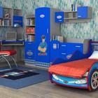 Кровать-машинка Полиция