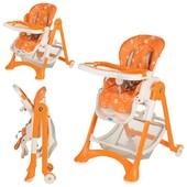 Детский складной стульчик для кормления Bambi M 2430