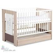 Кроватка детская Klups Safari Zajaczek (с ящиком)