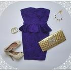 Новое размер С платье с баской New look