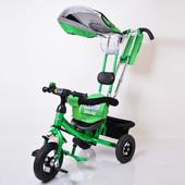 Детский трехколесный велосипед lexus 007 (Tape 4) надувные колеса