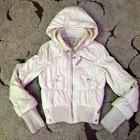 Куртка на синтепоне _44-46 молочный перламутр из Америки.