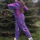 Лыжный термокостюм для  девочек.размеры 134,140,.