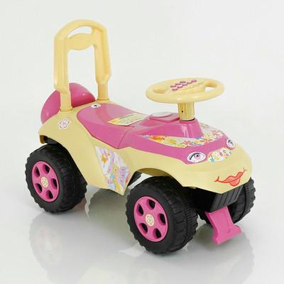 Машина каталка  автошка с муз.рулем 0142 долони фото №5