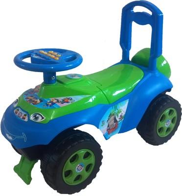 Машина каталка  автошка с муз.рулем 0142 долони фото №7