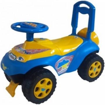 Машина каталка  автошка с муз.рулем 0142 долони фото №4