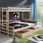 Двухъярусная кровать трехместная Benjamin (Бенжамин)