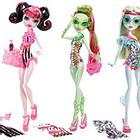 Куклы Монстер Хай Monster High Пляжные Куклы(Swim Doll)