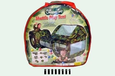 Детская игровая палатка 2 в 1 и тоннель фото №2