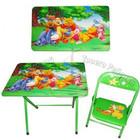 Детский столик со стульчиком складной DT 18-13 Винни Пух