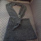 Оригинальный комплект: теплая юбка и шалевая накидка для женщин.