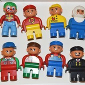 Lego Duplo человечки новые и б/у.