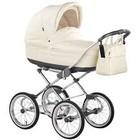 Универсальная коляска Roan Marita Prestige Chrome s-151 (черные колеса)