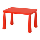 Стол детский Маммут. Икеа (Ikea)