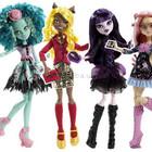 Куклы Монстер Хай Monster High Страх, Камера, Мотор Вайперин Хани Свомп Клодия Вульф Элиссабэт
