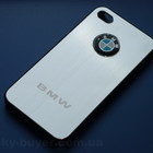 Чехлы iphone 4 4S BMW, металлический чехол айфон бмв