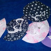 Летние шляпки-панамы Р50-54