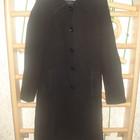 Пальто кашемировое женское черное классическое весеннее