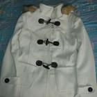 Пальто кашемировое с капюшоном-M/L