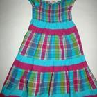 Летнее платье на девочку 5-6 лет!