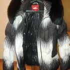 Женский стильный теплый пуховик,куртка!Утиный пух!Воротник - лиса!