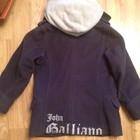 Пальто Galliano на мальчика 8 лет