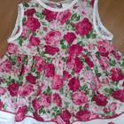 красивенное платье малышке 6-9 мес.