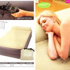 Надувная односпальная кровать Intex 67776 (99-191-47 см.) + электронасос 220W