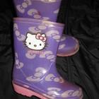 сапоги резиновые с Китти, стелька=13 см, Hello Kitty