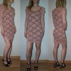 Кружевное платье H&M размер С