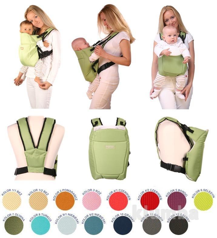 Рюкзак переноска для детей womar globetroter 7 excluzive womar (оригинал,цвета в ассортименте) фото №1