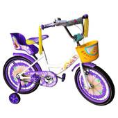 Азимут Гел 14 16 18 20  Azimut Girls  дюймов, фиолетовый велосипед для девочки