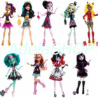В наличии 100 Monster High куклы монстер хай камера страх элизабет вайперин гаргон хани свомп