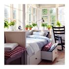 Кушетка, кровать, софа, диван раскладной с 3 ящиками для белья Hemnes