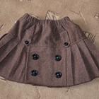 теплая юбка на 5-6 лет, на рост 110-116