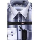 Новая Рубашка Polo Armani синяя и черная полоски 2 шт. в наличии